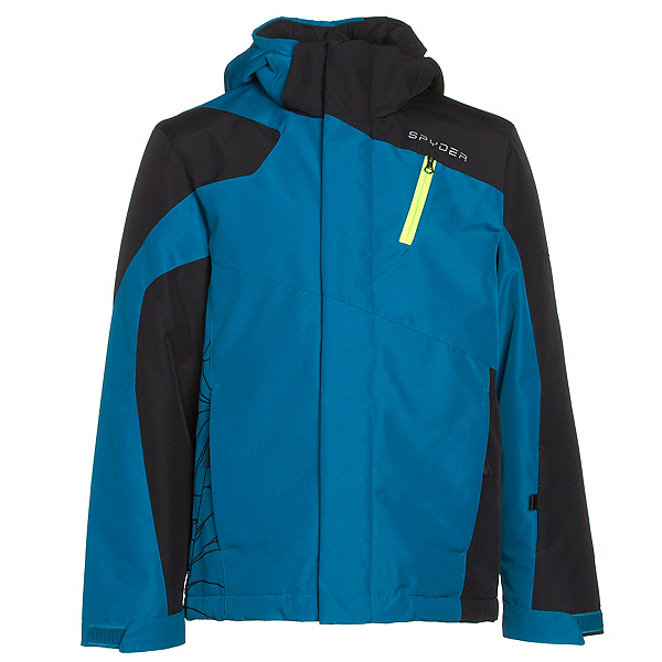 Spyder Guard Boys Ski Jacket, , 600