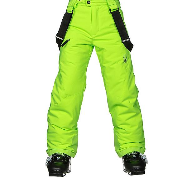 Spyder Propulsion Kids Ski Pants, Bryte Green, 600