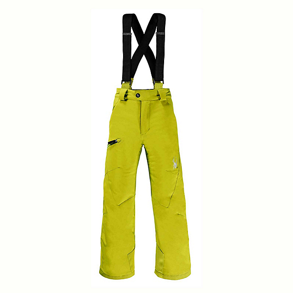 Spyder Propulsion Kids Ski Pants (Previous Season), Sulfur, 600