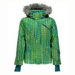 Spyder Lola Girls Ski Jacket, Harmony Bluebird Print-Bluebird, 256