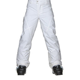Spyder Mimi Girls Ski Pants, White, 256