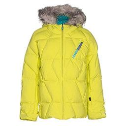 Spyder Hottie Girls Ski Jacket, Acid-Harmony Bluebird Print, 256