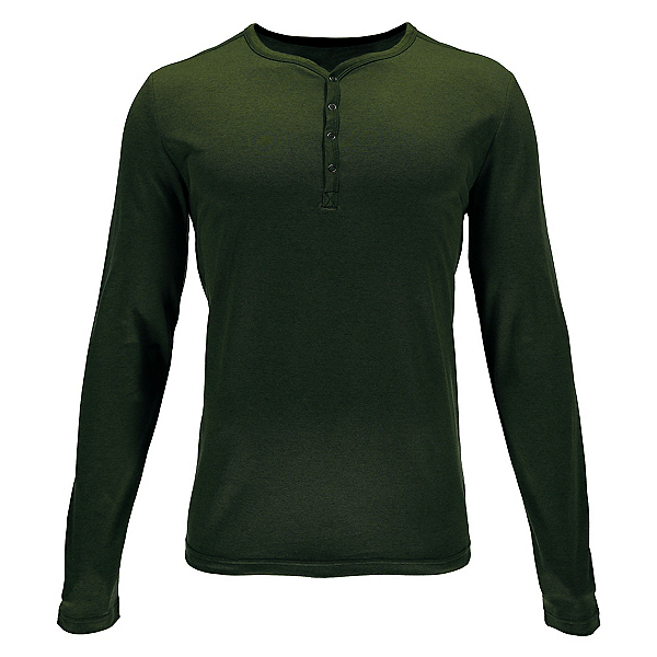 Spyder Steward Henley Mens Shirt, Albion Green, 600