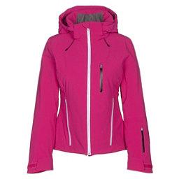 Spyder Fraction Womens Insulated Ski Jacket, Voila-White-Black, 256