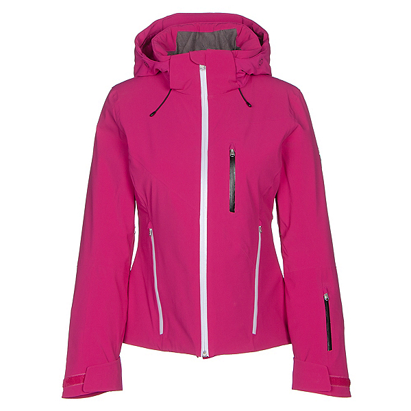 Spyder Fraction Womens Insulated Ski Jacket, Voila-White-Black, 600