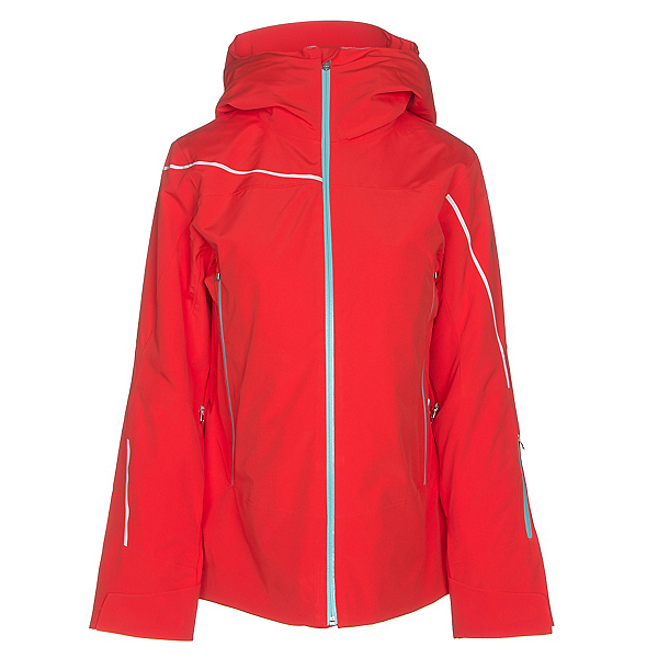 Spyder Syncere Womens Insulated Ski Jacket, Burst-Burst-Freeze, 600