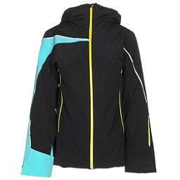 Spyder Syncere Womens Insulated Ski Jacket, Black-Freeze-Acid, 256