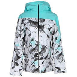 Spyder Syncere Womens Insulated Ski Jacket (Previous Season), Frozen Freeze Print-Freeze-Bla, 256
