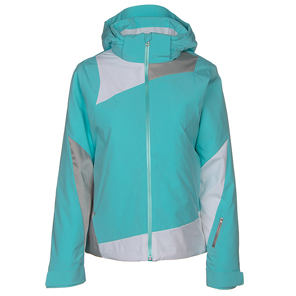 Spyder Lynk 321 Womens Insulated Ski Jacket (Previous Season), Freeze-White-Silver, 600