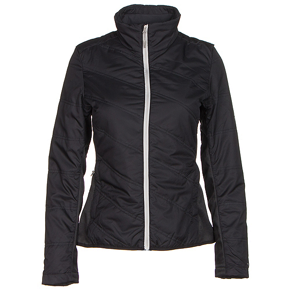 Spyder Glissade Womens Jacket (Previous Season), Black-Cirrus-Silver, 600