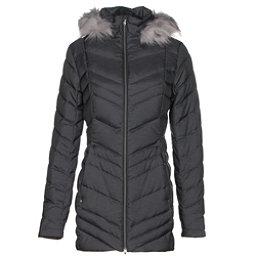 Spyder Timeless Long w/Faux Fur Womens Jacket, Black, 256