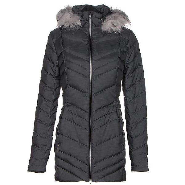 Spyder Timeless Long w/Faux Fur Womens Jacket, Black, 600