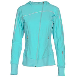 Spyder Caydence Full Zip Womens Hoodie, Freeze, 256