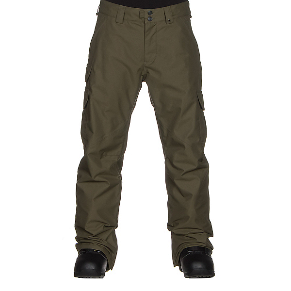 Burton Cargo Classic Fit Mens Snowboard Pants, Keef, 600