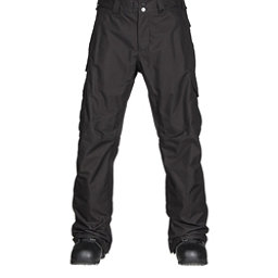 Burton Cargo Classic Fit Mens Snowboard Pants, True Black, 256