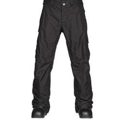 Burton Cargo Classic Tall Mens Snowboard Pants, True Black, 256
