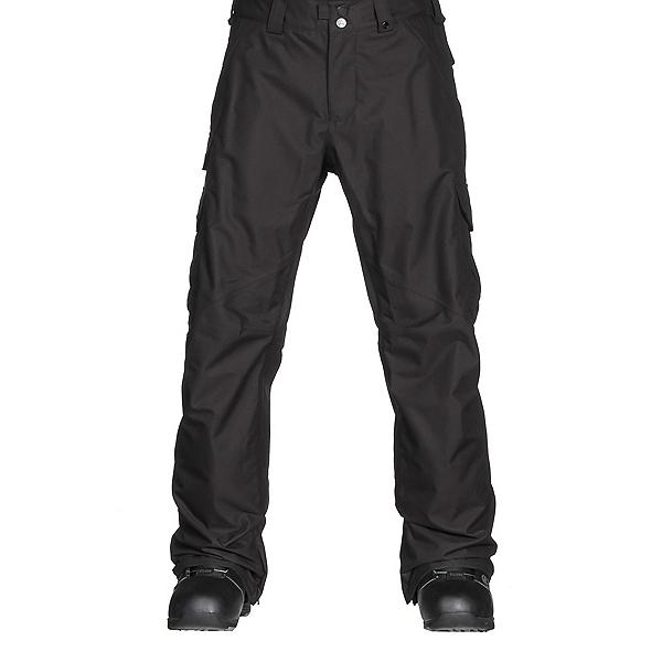 Burton Cargo Classic Tall Mens Snowboard Pants, True Black, 600