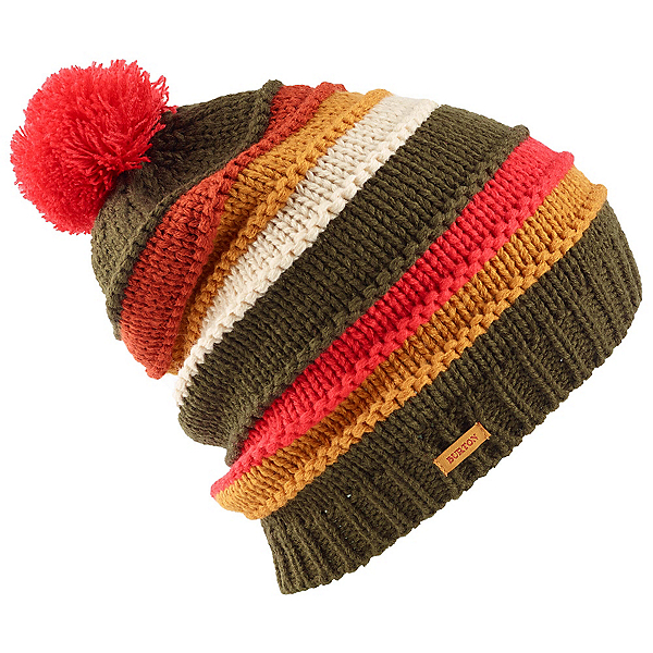 Burton Candy Stripe Beanie Womens Hat, Keef, 600