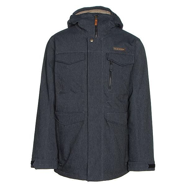 Burton Covert Mens Insulated Snowboard Jacket, Denim, 600