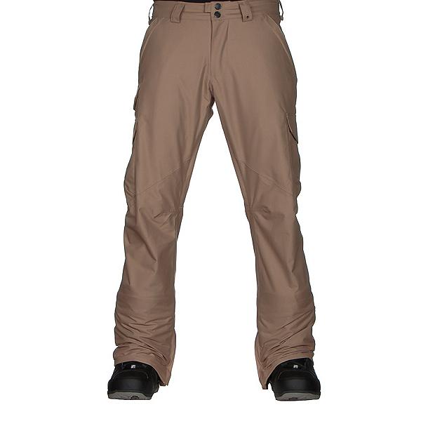 Burton Cargo Mid Fit Mens Snowboard Pants, Kelp, 600