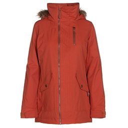 Burton Hazel w/Faux Fur Womens Insulated Snowboard Jacket, Picante, 256