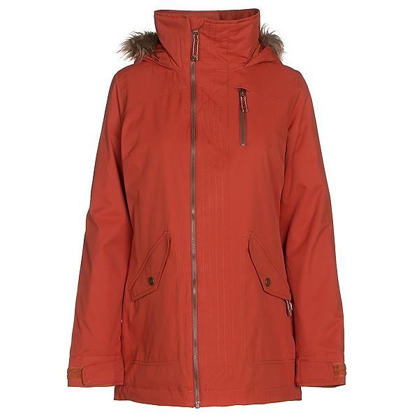 Burton Hazel w/Faux Fur Womens Insulated Snowboard Jacket, Picante, 600