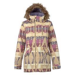 Burton Hazel w/Faux Fur Womens Insulated Snowboard Jacket, Vision Quest, 256