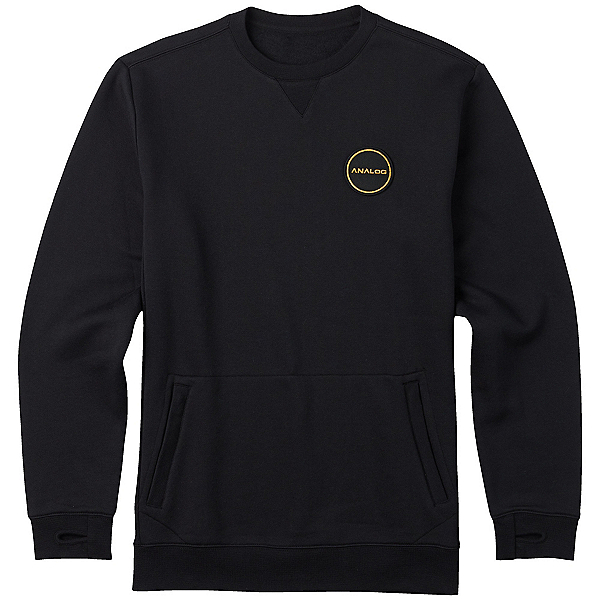 Burton Analog Enclave Crew Sweatshirt, True Black, 600