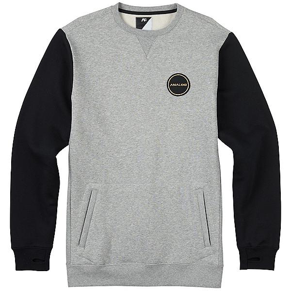 Burton Analog Enclave Crew Sweatshirt, Gray Heather, 600