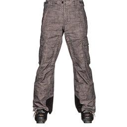 Columbia Ridge Run II Big Mens Ski Pants, Grill Tweed Print, 256