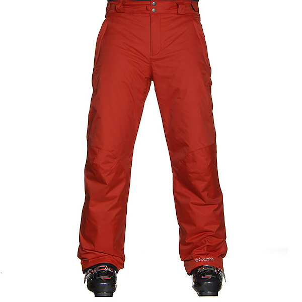 Columbia Bugaboo II Mens Ski Pants, Rust Red, 600