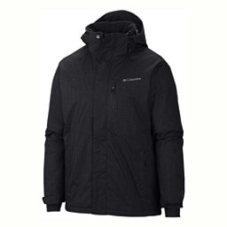 Columbia Alpine Action Big Mens Insulated Ski Jacket, Black, 256