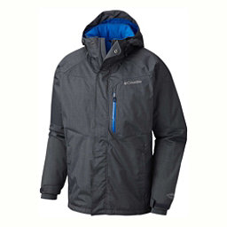 Columbia Alpine Action Big Mens Insulated Ski Jacket, Graphite-Super Blue, 256