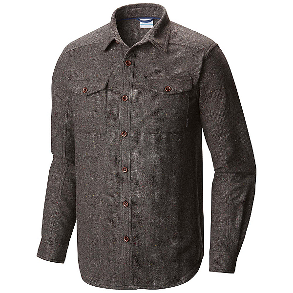 Columbia Sage Butte Long Sleeve Mens Flannel Shirt, , 600