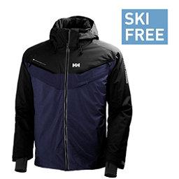 Helly Hansen Blazing Mens Insulated Ski Jacket, Evening Blue, 256