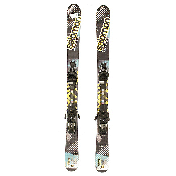 Used 2014 Salomon Focus Skis with Salomon L10 Bindings, , 600