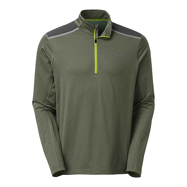 The North Face Kilowatt 1/4 Zip Mens Shirt (Previous Season), Climbing Ivy Green Heather, 600