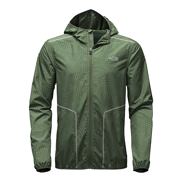 The North Face Ampere Wind Trainer Mens Jacket (Previous Season), Climbing Ivy Green, 600
