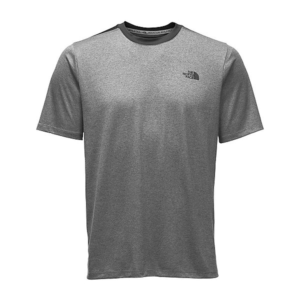 The North Face Reactor S/S Crew Mens T-Shirt (Previous Season), TNF Medium Grey Heather, 600