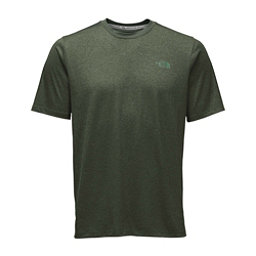 The North Face Reactor S/S Crew Mens T-Shirt (Previous Season), Climbing Ivy Green Heather, 256