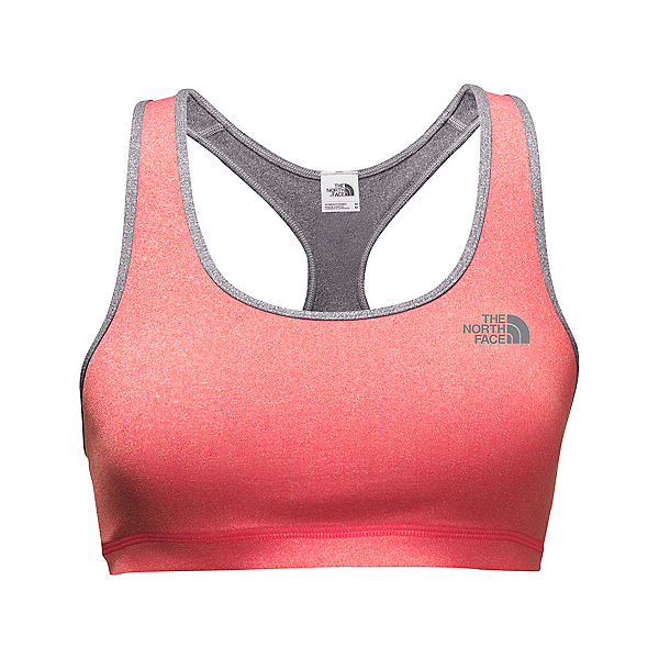 The North Face Versitas Fearless Womens Sports Bra (Previous Season), Cayenne Red Heather-TNF Medium, 600