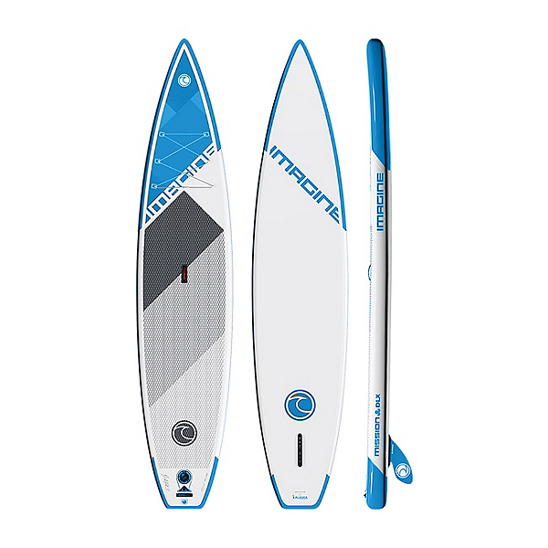Imagine Surf IPS Mission 11 DLX Inflatable Stand Up Paddleboard, , 600