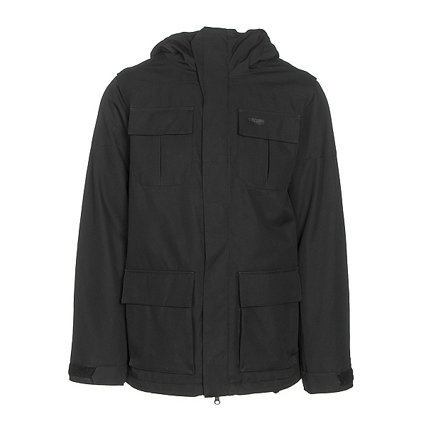 Volcom Alternate Mens Insulated Snowboard Jacket, Black, 600