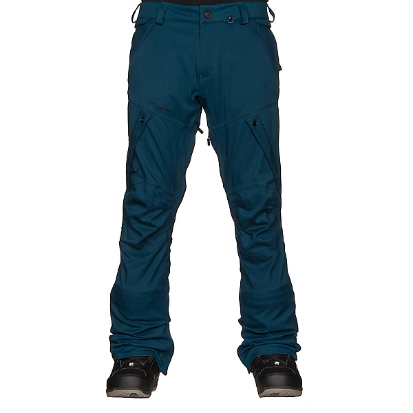 Volcom Articulated Mens Snowboard Pants, , 600