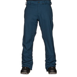 Volcom Freakin Snow Chino Mens Snowboard Pants, Blue Black, 256