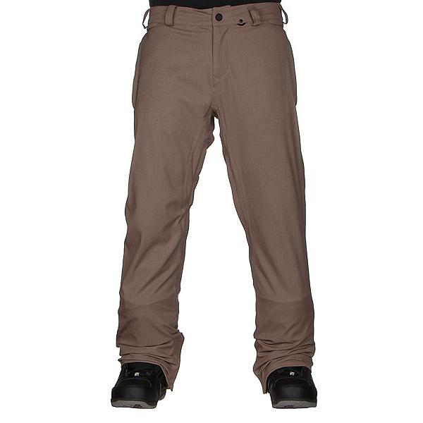 Volcom Freakin Snow Chino Mens Snowboard Pants, Khaki, 600