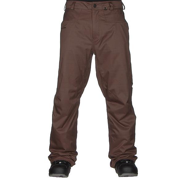 Volcom Carbon Mens Snowboard Pants, Teak, 600