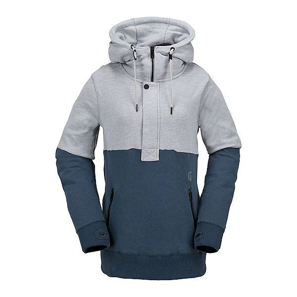 Volcom Shale Pull Over Fleece Womens Hoodie, , 600