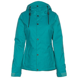 Volcom Bolt Womens Insulated Snowboard Jacket, Teal, 256