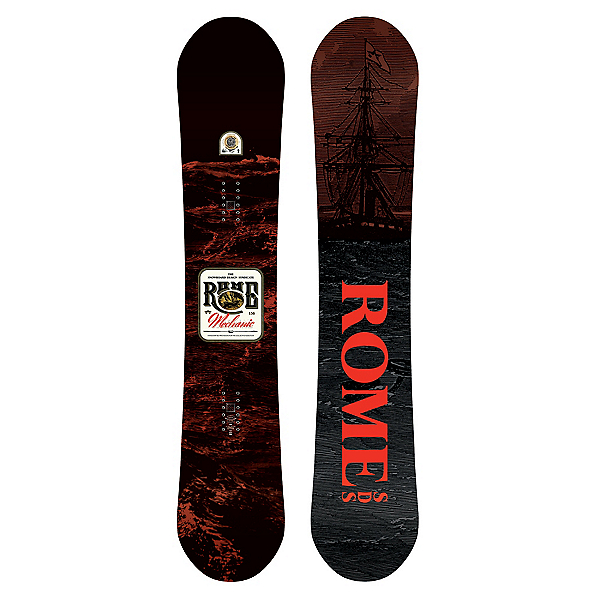 Rome Mechanic Snowboard, , 600